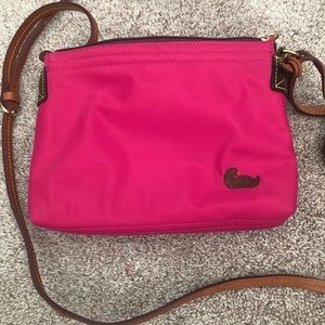 Dooney & Burke hot pink purse